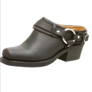 Frye Women's Belted Harness Mule 7.5 M